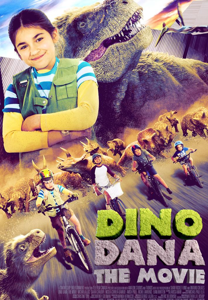 Poster for Dino Dana The Movie